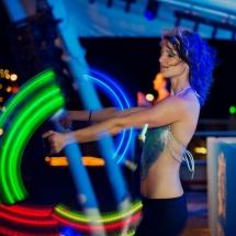 LED poi Shimmy Beach Bar