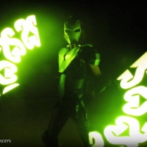 Robot and Logo Lights